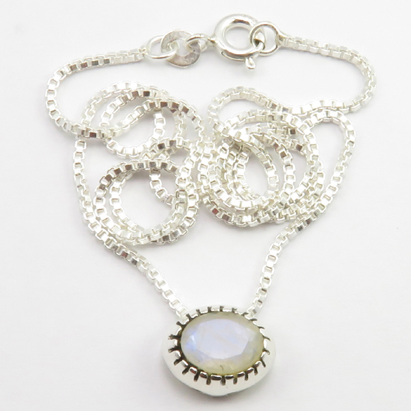 Faceted-Amethyst-Peridot-Box-Chain-2-in-1-Necklace-16-034-Women-925-Silver-Jewelry thumbnail 92