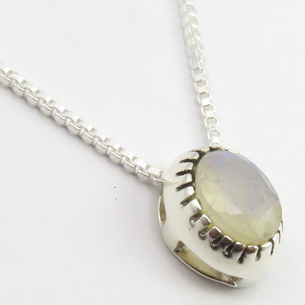 Faceted-Amethyst-Peridot-Box-Chain-2-in-1-Necklace-16-034-Women-925-Silver-Jewelry thumbnail 95