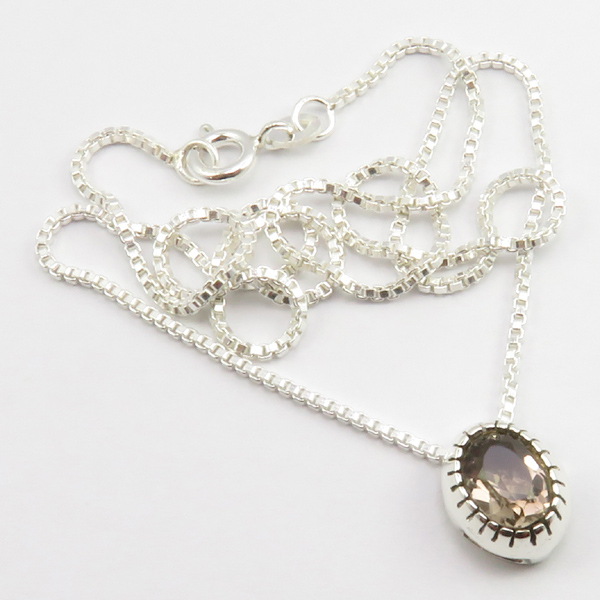 Faceted-Amethyst-Peridot-Box-Chain-2-in-1-Necklace-16-034-Women-925-Silver-Jewelry thumbnail 103