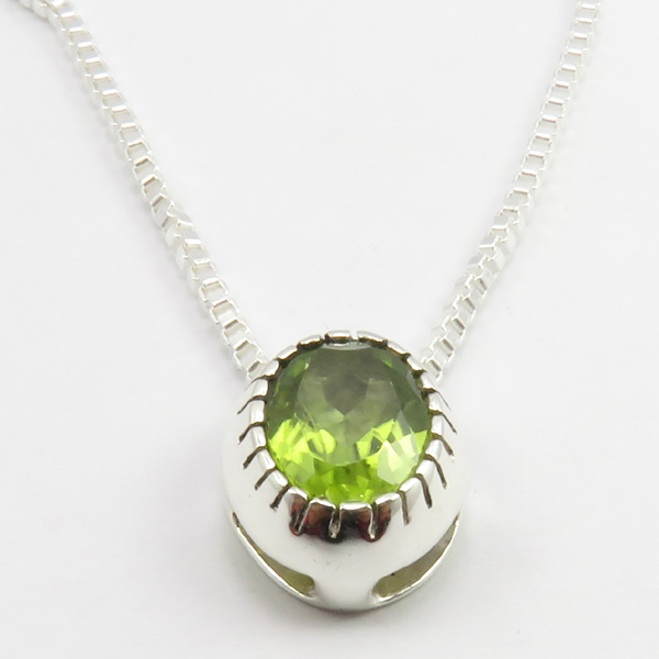 Faceted-Amethyst-Peridot-Box-Chain-2-in-1-Necklace-16-034-Women-925-Silver-Jewelry thumbnail 85