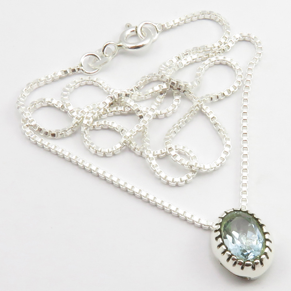 Faceted-Amethyst-Peridot-Box-Chain-2-in-1-Necklace-16-034-Women-925-Silver-Jewelry thumbnail 23