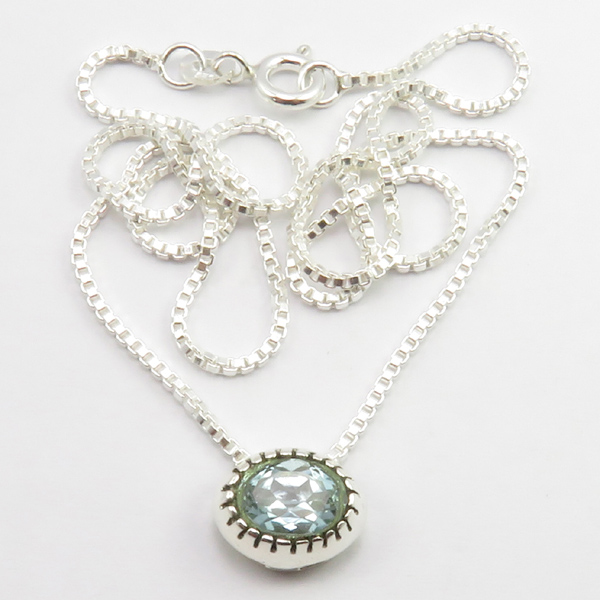 Faceted-Amethyst-Peridot-Box-Chain-2-in-1-Necklace-16-034-Women-925-Silver-Jewelry thumbnail 22