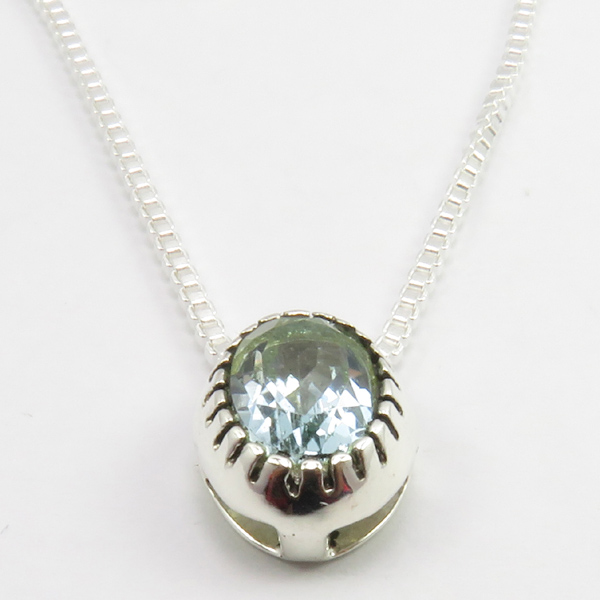 Faceted-Amethyst-Peridot-Box-Chain-2-in-1-Necklace-16-034-Women-925-Silver-Jewelry thumbnail 25