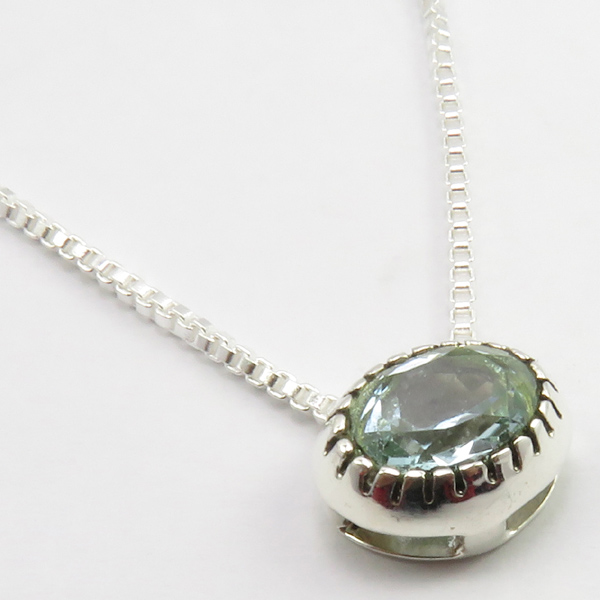 Faceted-Amethyst-Peridot-Box-Chain-2-in-1-Necklace-16-034-Women-925-Silver-Jewelry thumbnail 26