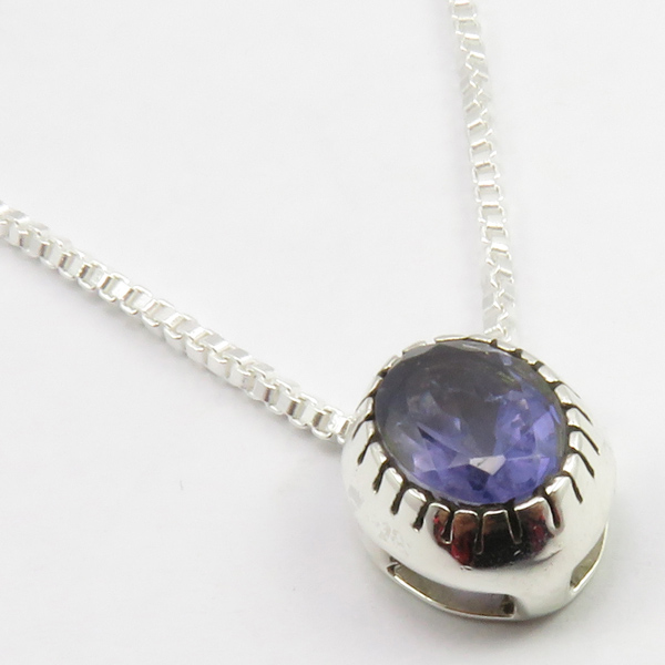 Faceted-Amethyst-Peridot-Box-Chain-2-in-1-Necklace-16-034-Women-925-Silver-Jewelry thumbnail 55