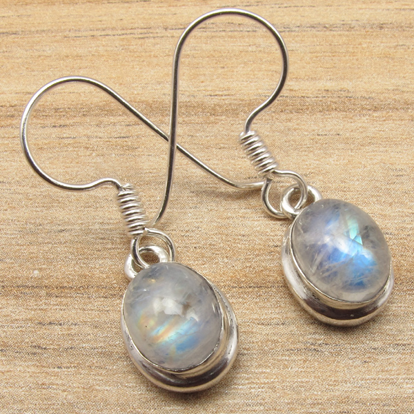 925-Silver-Plated-Real-LABRADORITE-amp-Other-Gemstone-FASHION-Jewelry-Earrings-NEW thumbnail 2