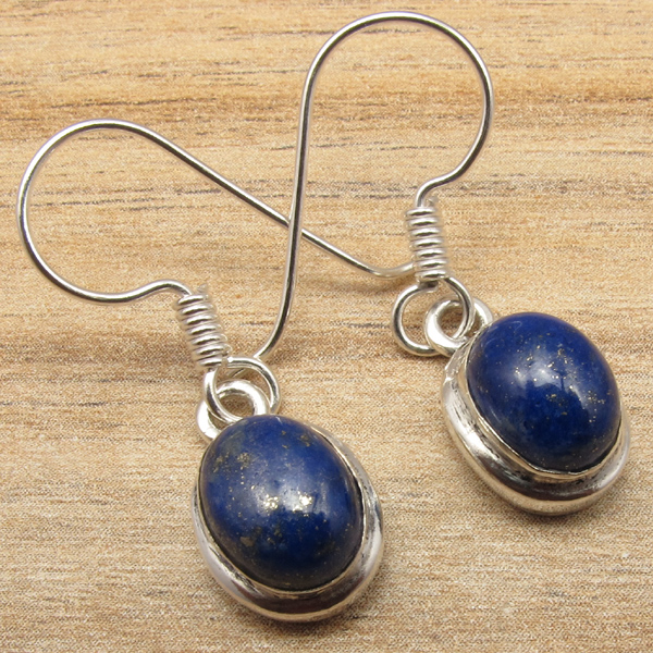 925-Silver-Plated-Real-LABRADORITE-amp-Other-Gemstone-FASHION-Jewelry-Earrings-NEW thumbnail 5