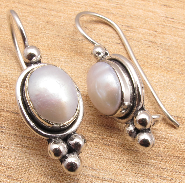 925-Silver-Plated-Blue-Fire-LABRADORITE-amp-Other-Gemstone-CHOICES-Earrings-NEW thumbnail 4