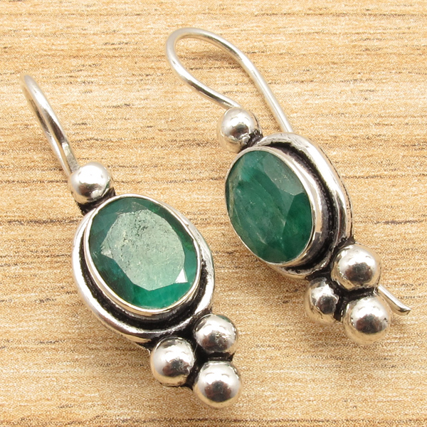 925-Silver-Plated-Blue-Fire-LABRADORITE-amp-Other-Gemstone-CHOICES-Earrings-NEW thumbnail 7