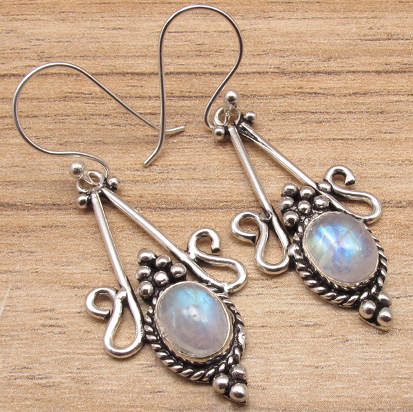 gemstone style online jewellery old itm silver store earrings plated jewelry